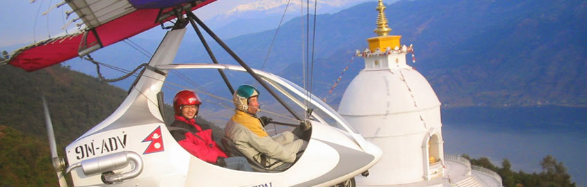 Ultra light Aircraft Flight