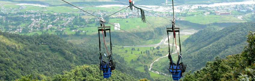 Zip Flyer in Pokhara