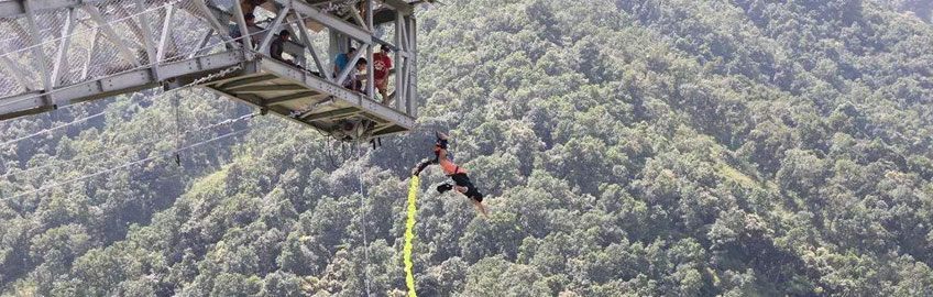 Water Touch Bungy Jump Pokhara